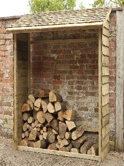 Forest Garden Log Stores